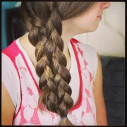 lace- braid easy hairstyles
