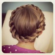 crown rope twist braid updo hairstyles