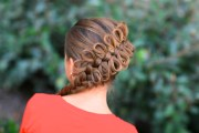 diagonal bow braid popular hairstyles