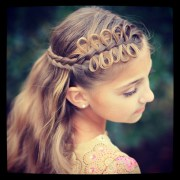bow braids cute girls hairstyles