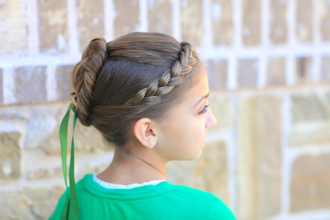 anna's coronation hairstyle inspired by disney's frozen