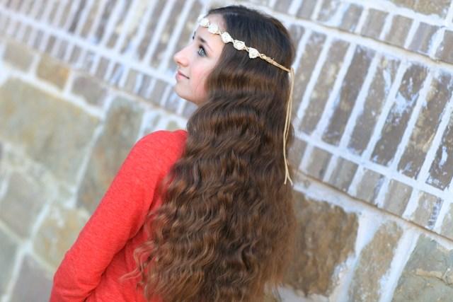 bandana curls | no-heat curl hairstyles | cute girls hairstyles