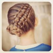 create zipper braid