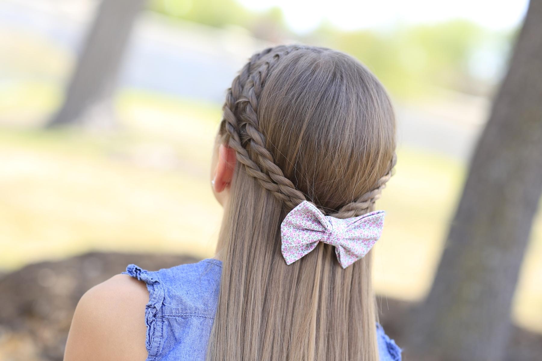 How to Create a ZigZag Twistback  Cute Hairstyles  Cute