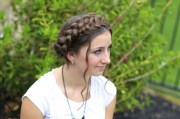 milkmaid braid cute summer hairstyles