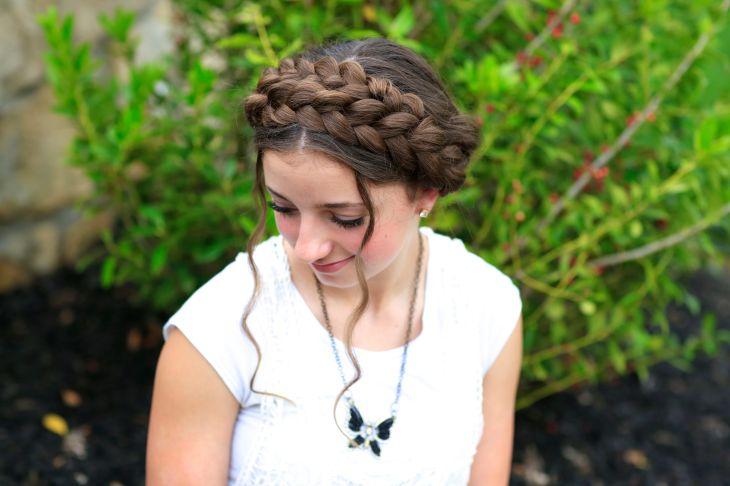 Milkmaid braid cute summer hairstyles photos milk hair for computer hd