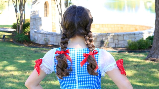 bailey's dorothy braids | halloween hairstyles | cute girls