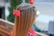 upward lace braid