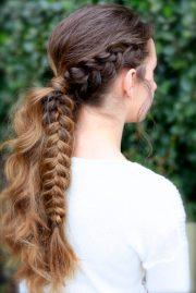 viking braid ponytail hairstyles