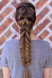 pull- fishtail braid combo