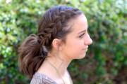dutch accent ponytail short hairstyles