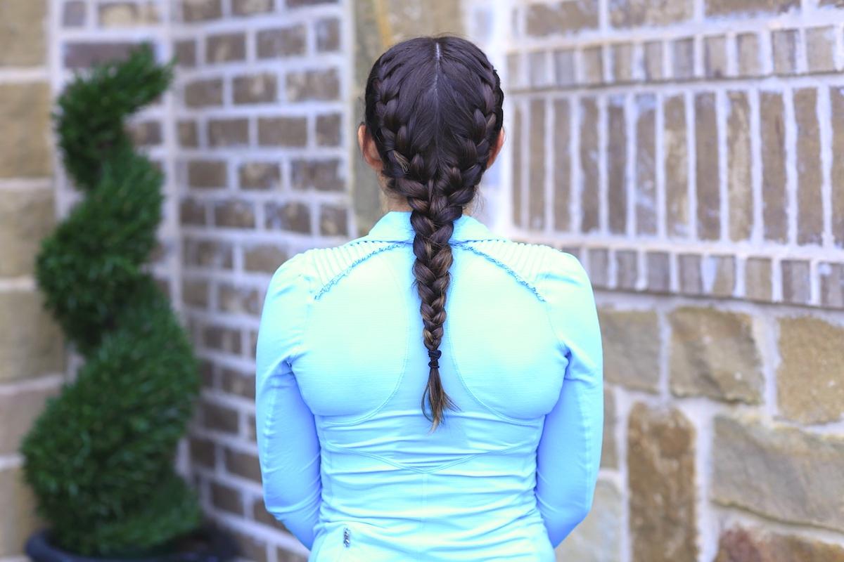 2 In 1 Boxer Braid No Heat Curls Cute Girls Hairstyles