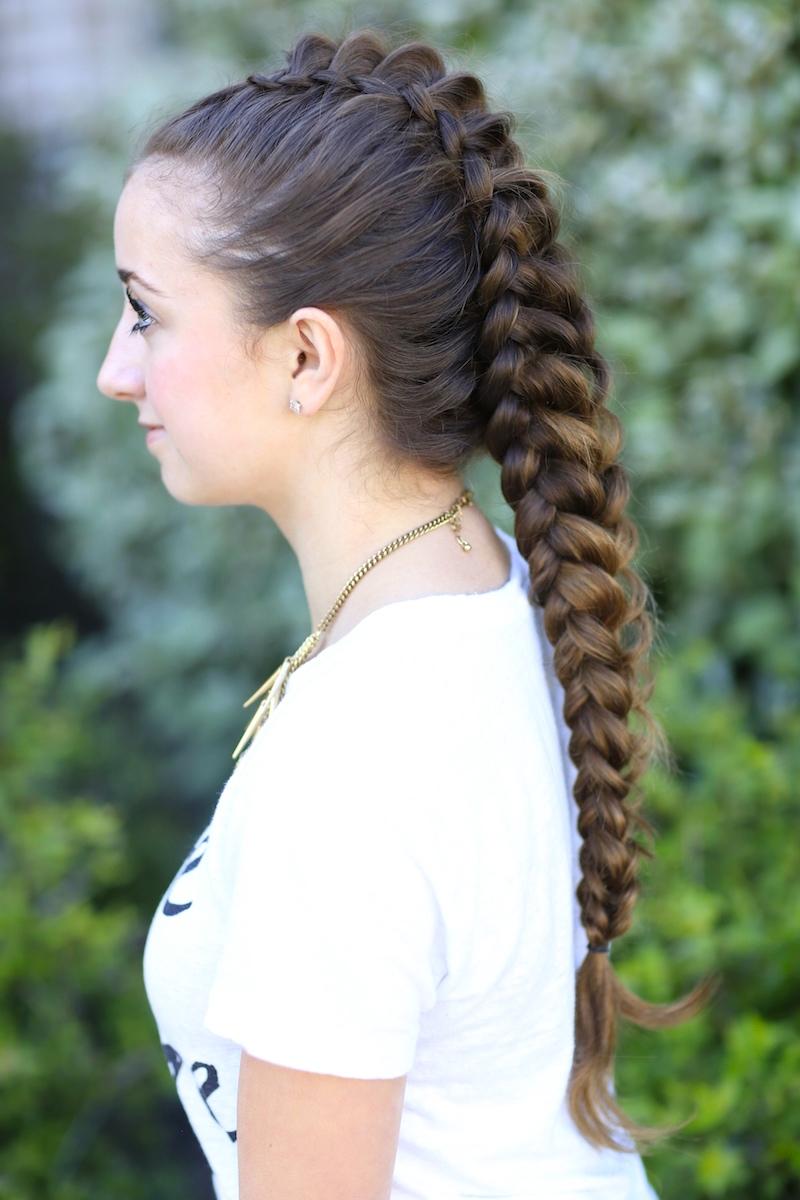 How to Create a Dragon Braid  Cute Girls Hairstyles
