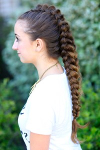 How to Create a Dragon Braid | Cute Girls Hairstyles
