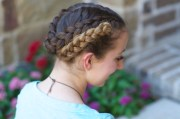 easy fold- braids -school