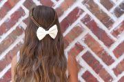 infinity braid tieback -school