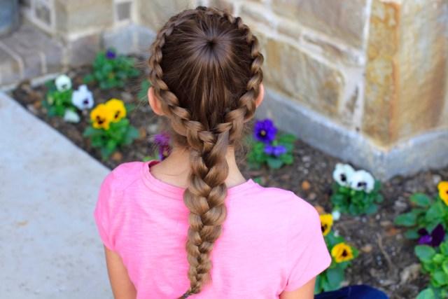how to create a dutch starburst braid | cute girls hairstyles