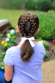 create dutch loop braid