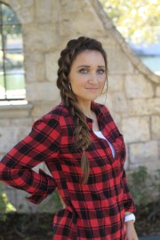 diy dutch side braid cute girls
