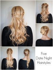 5 date night hairstyles cute