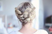 easy diy crown braid cute girls