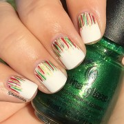 christmas nail art cute girls