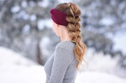 3 easy headband hairstyles cute