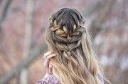 lace cute girls hairstyles