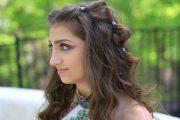kamri's prom hair boho bubble