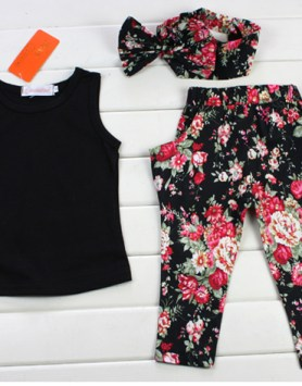 floral summer outfit