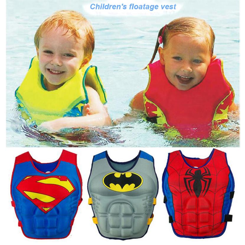 c1fc1962b1 2-6 Years Baby Swim Vest Float Kid Swim Trainer Boy Girl Buoyancy Swimwear  Child Life Vest Buoy Swimming Circle Pool Accessories