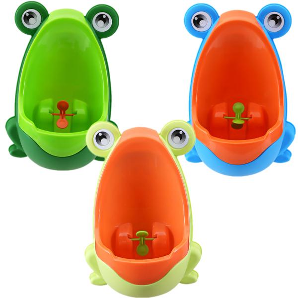Blue Cute Frog Children Potty Toilet Training Kids Urinal for Boys Pee Trainer Bathroom