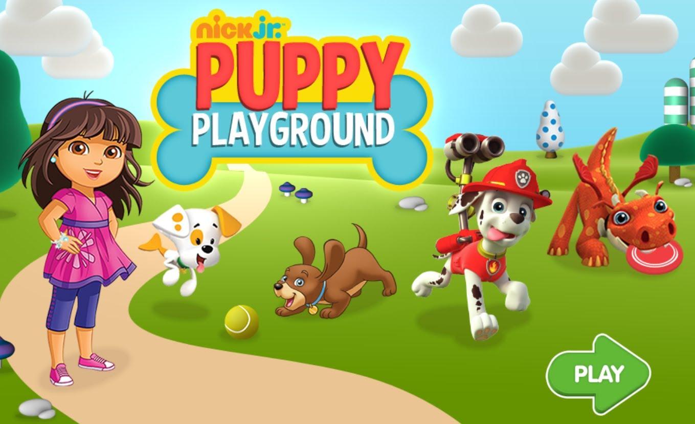 Nick Jr Puppy Playground 2 Preschool Game For Kids By