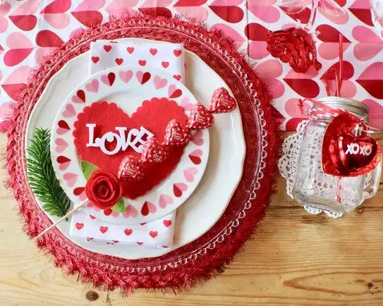 How to Style a Valentine's Day Table - Gallery Slide #9