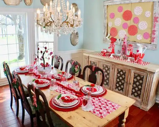 I Heart Valentine's Tablescape - Gallery Slide #15