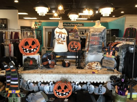 Halloween decor & clothing was just marked down!