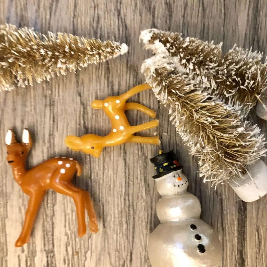 vintage inspired Christmas decor