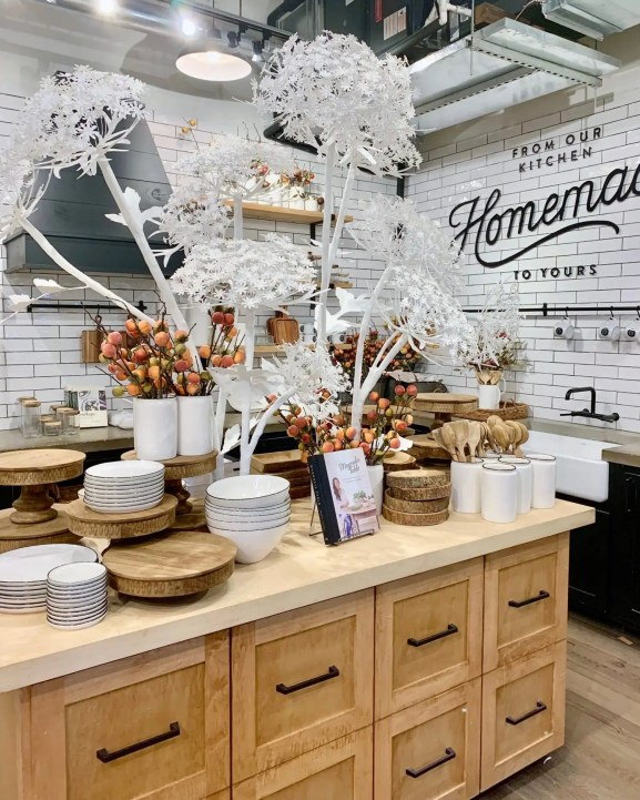 magnolia market kitchen area