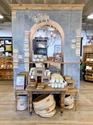 book display at magnolia market