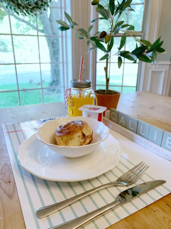 back to school breakfast idea