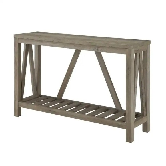 rustic+Console+Table