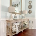 5 Ways To Style A Wood Console Table Cutertudor