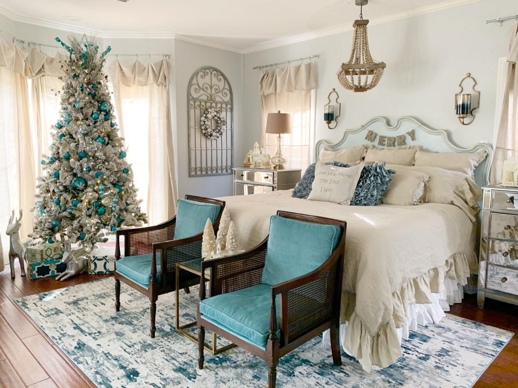 Blue Christmas Decor Cutertudor