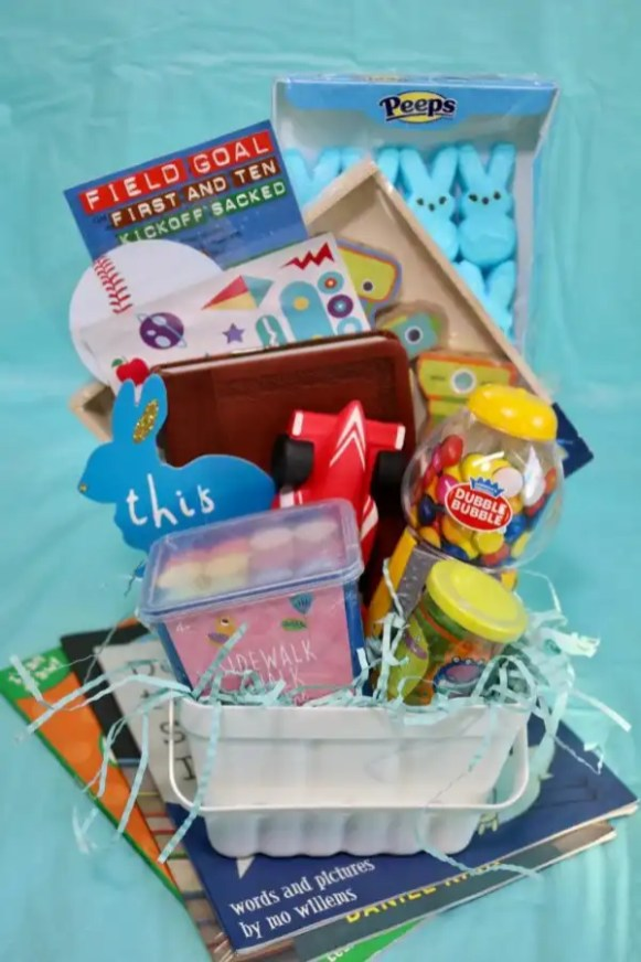 Easter Basket for Elementary Boy