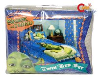 Shrek Twin Bedding Comforter Set w/Donkey & Cat-7PC | eBay