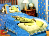 Shrek Twin Bedding Comforter Set w/Donkey & Cat