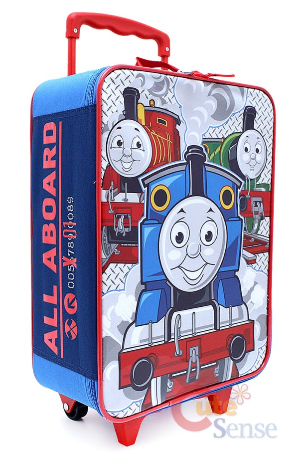 Thomas Tank Engine Rolling Luggage Suitecase Travel Bag