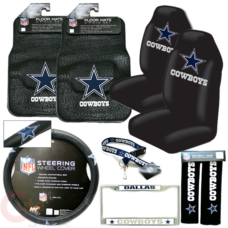 dallas cowboys chair cover best chairs swivel glider with ottoman auto accessories photos