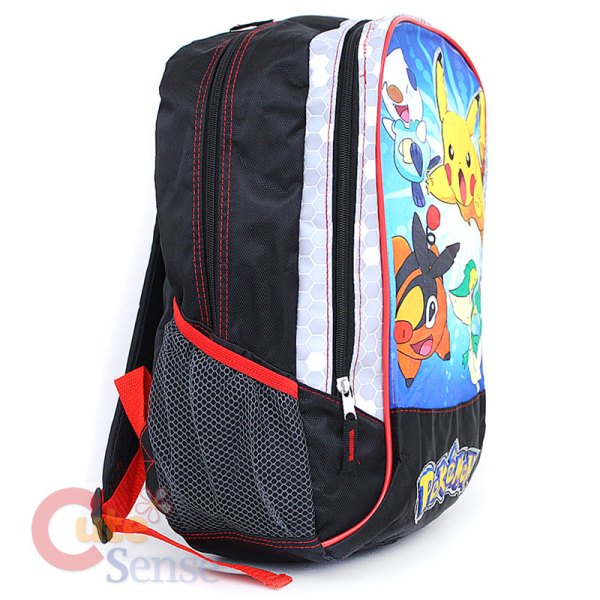 Pokemon Pikachu School Backpack Battlefield 16