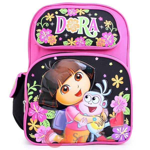 """Dora Explorer Boots 16"""" School Backpack Large"""